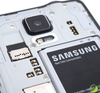 Samsung Galaxy Note 4 : certains modèles présentent des batteries contrefaites