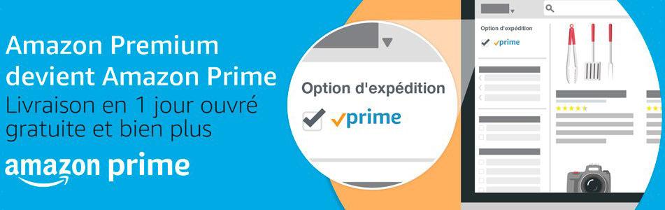 Amazon Premium change de nom et devient Prime pour des services harmonisés