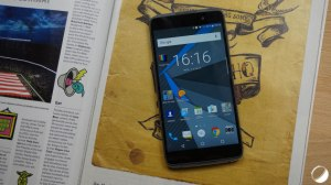 IFA 2017 : un nouveau BlackBerry waterproof et sans clavier en approche