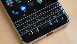 BlackBerry ou BlackBerry ? Pour elle, le clavier...