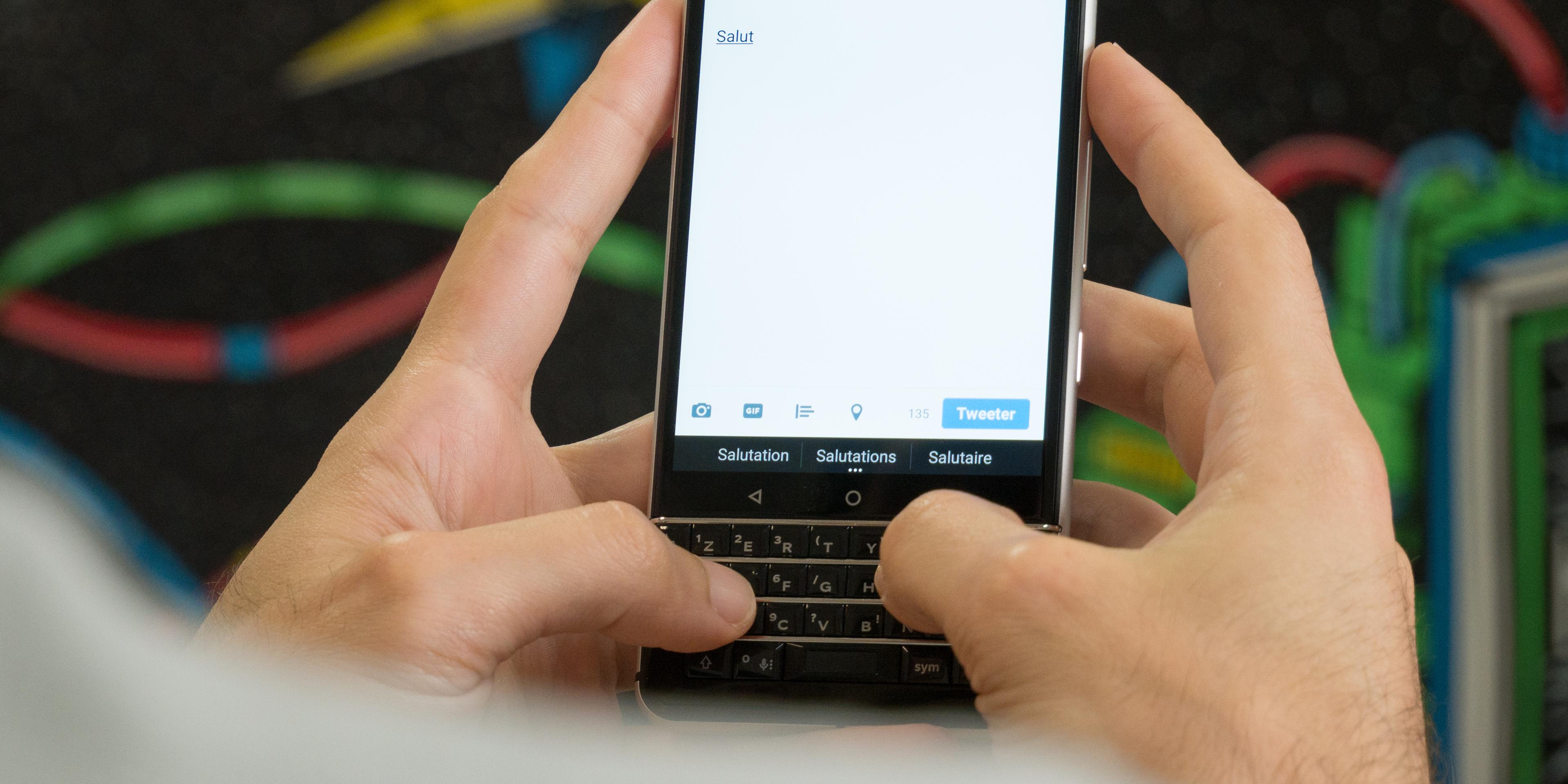 BlackBerry Secure : l'OS de Blackberry pourrait être déployé sur d'autres marques