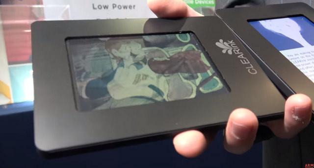 CLEARink : de nouveaux écrans couleur prometteurs pour liseuses et objets connectés