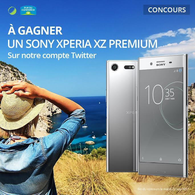🔥 Concours : un Sony Xperia XZ Premium à gagner avec RueDuCommerce.fr et FrAndroid !