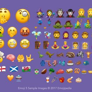 Unicode 10.0 est disponible avec 56 nouveaux émojis