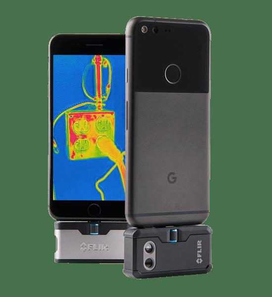 FLIR One et One Pro : ajoutez une caméra thermique à votre smartphone