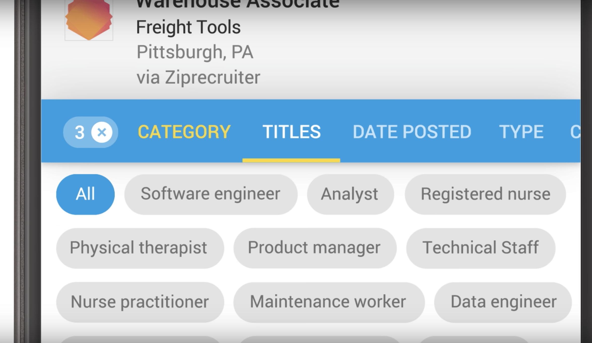 Google lance Google for Jobs pour vous aider à trouver votre prochain emploi