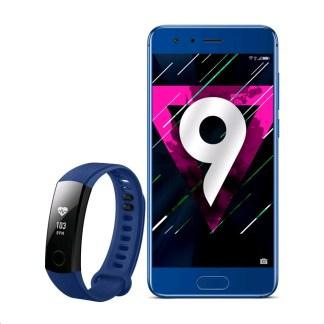 🔥 Bon plan : le Honor 9 à 350 euros avec un bracelet Honor Band 3 offert