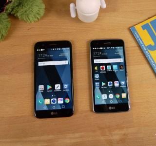 Test des LG K8 2017 et LG K10 2017: trop cher pour de l'entrée de gamme?