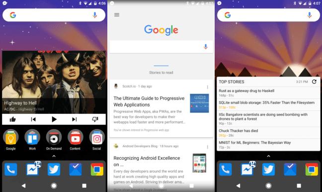 Le Google Now avec Nova Launcher est désormais compatible Lollipop