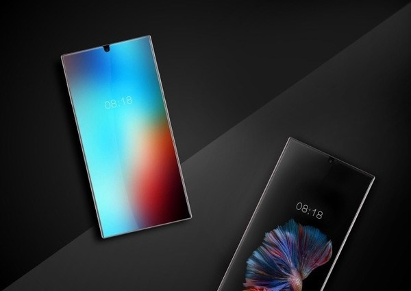 Sharp va sortir deux smartphones aux écrans vraiment sans bordures