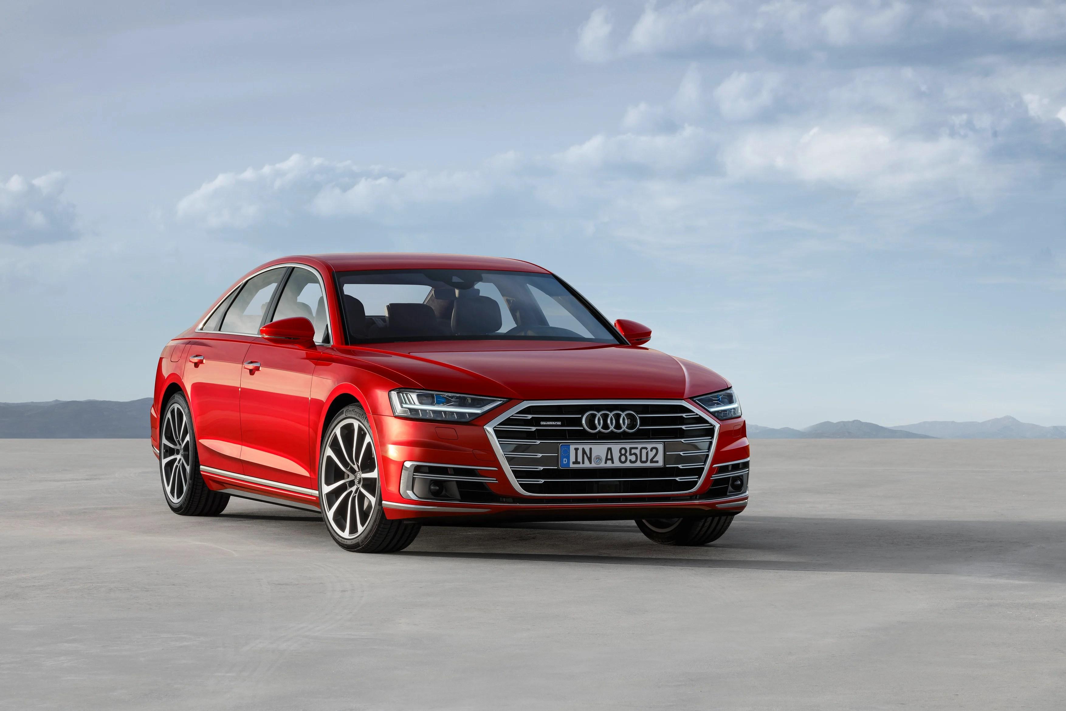 Audi A8 : pilote auto, AI… le pétard mouillé