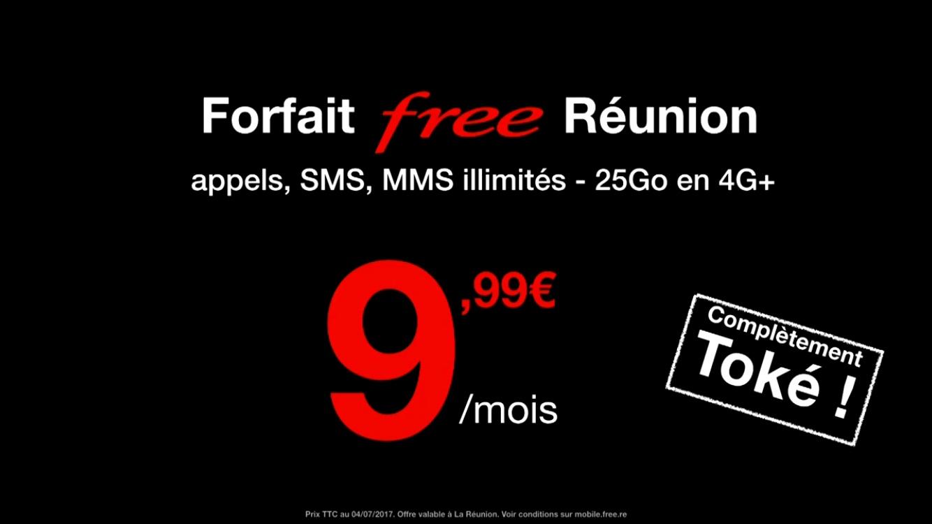 Free Mobile casse les prix à la Réunion