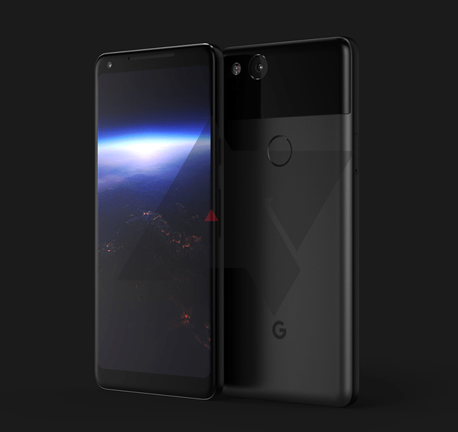 Voici (probablement) le Pixel XL (2017), avec son écran AMOLED et ses bordures fines