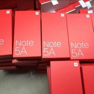 Une boite et des caractéristiques techniques pour le Xiaomi Redmi Note 5A