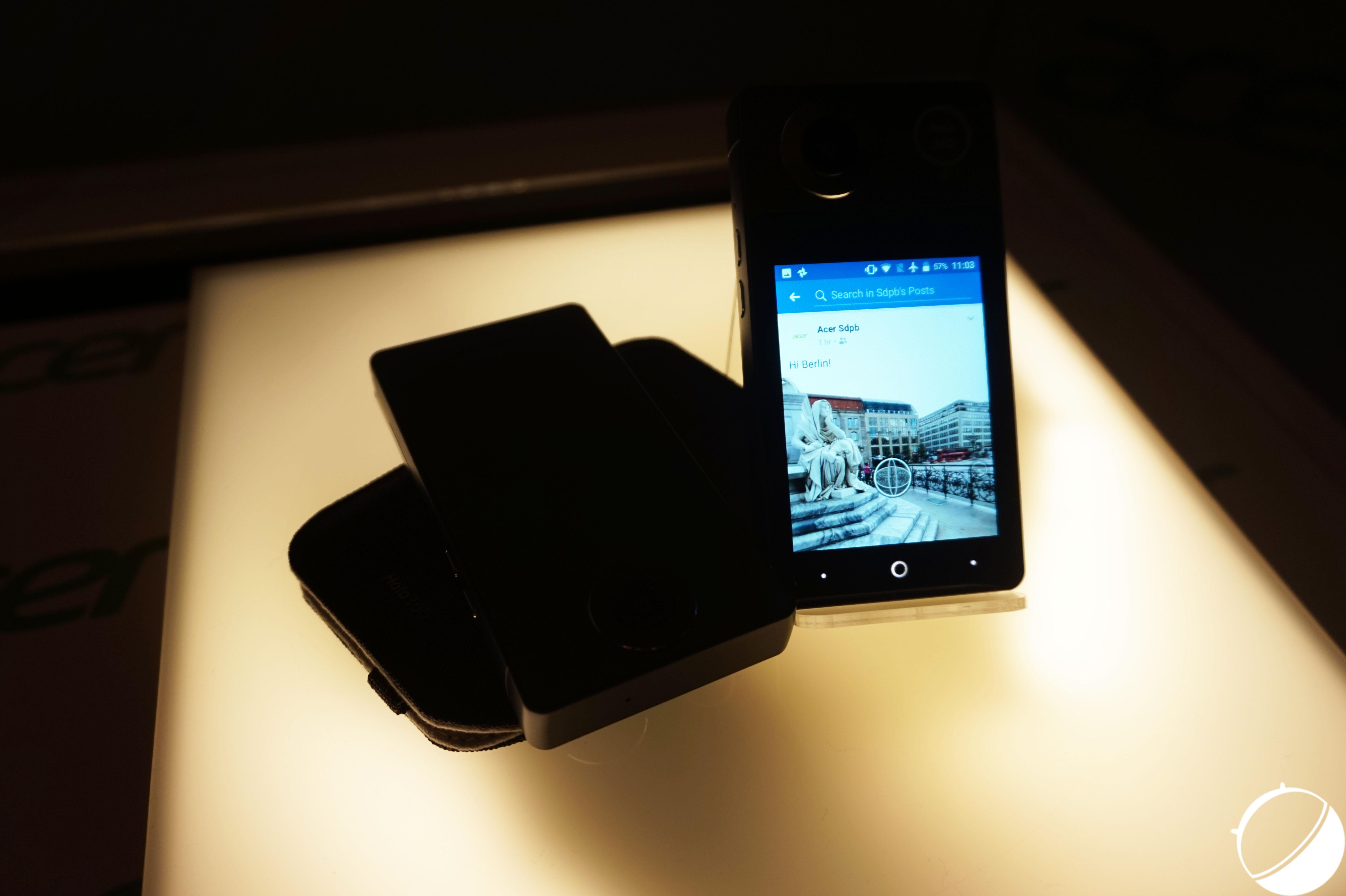Acer Holo360 et Vision360 : la vidéo à 360 degré a maintenant son smartphone – IFA 2017