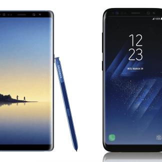 Samsung Galaxy Note 8 et Galaxy S8 Plus : vous ne devriez pas vraiment hésiter entre les deux