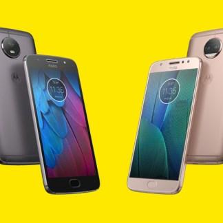 Lenovo officialise les Motorola Moto G5S et G5S Plus