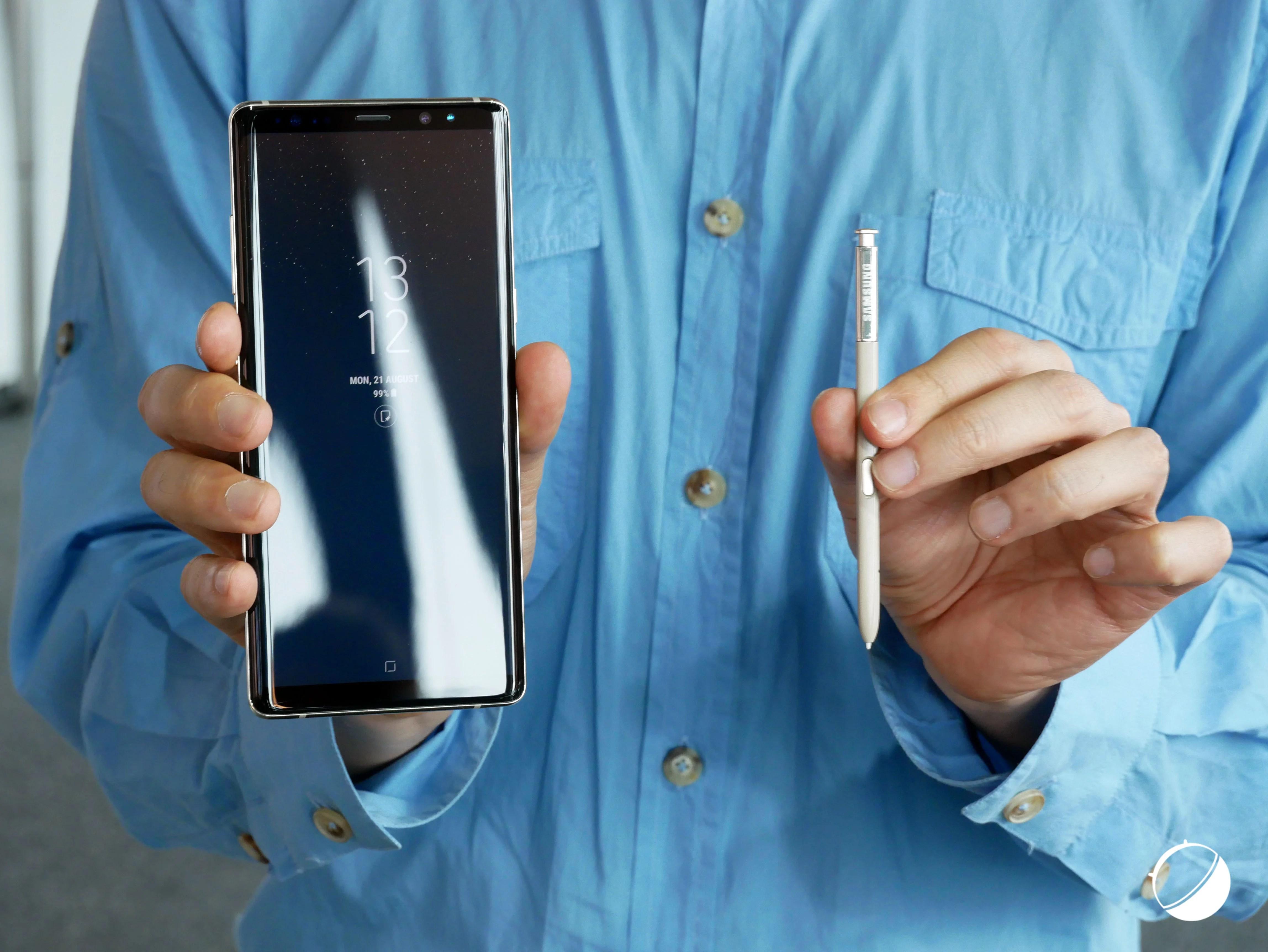 Notre déballage du Samsung Galaxy Note 8 en replay