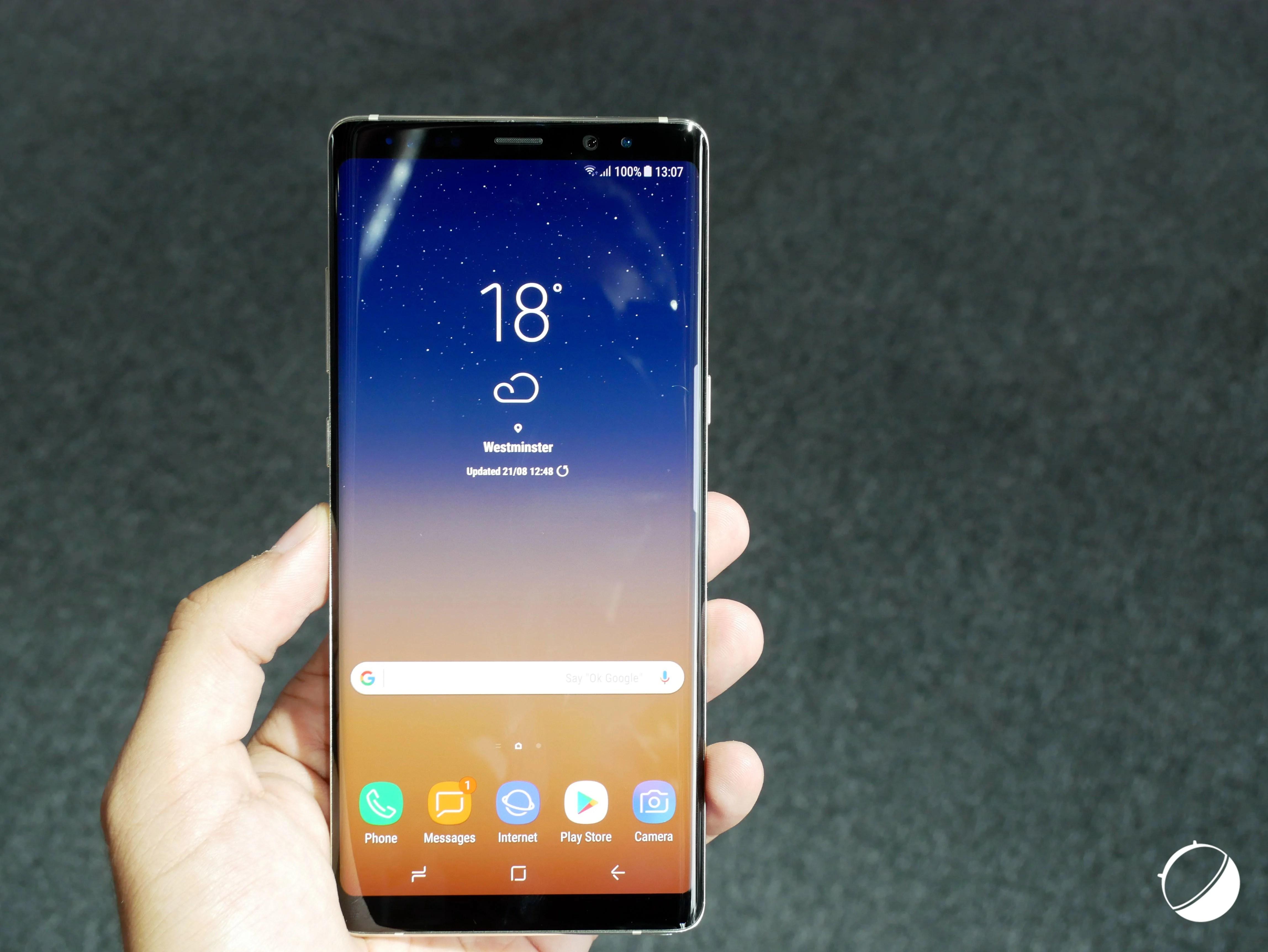 Prise en main Samsung Galaxy Note 8: prêt à payer plus de 1000 euros?