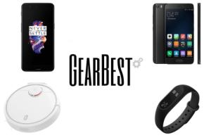 6 offres de la semaine sur GearBest : OnePlus 5, Xiaomi Mi 5, Mi Note 2, Mi Band 2, Mi Robot Vacuum & Huawei Nova 2