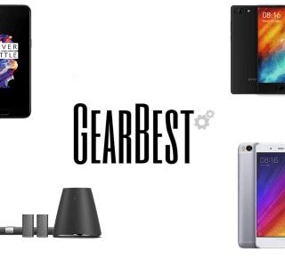 4 offres de la semaine sur GearBest : OnePlus 5, Xiaomi Mi 5s, Maze Alpha et Home Cinéma Xiaomi