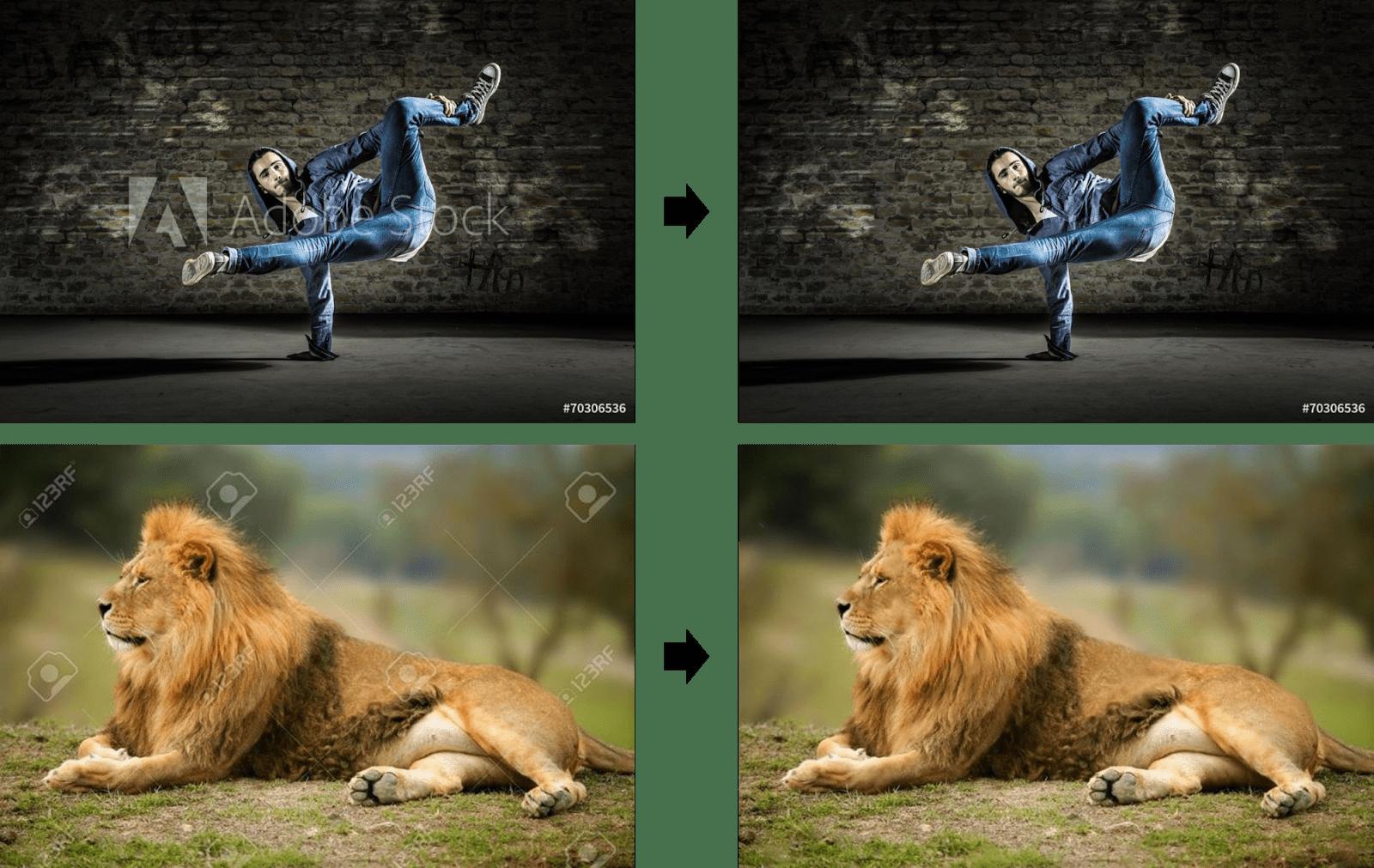 L'algorithme de Google enlève les watermarks des images trouvées sur le Web