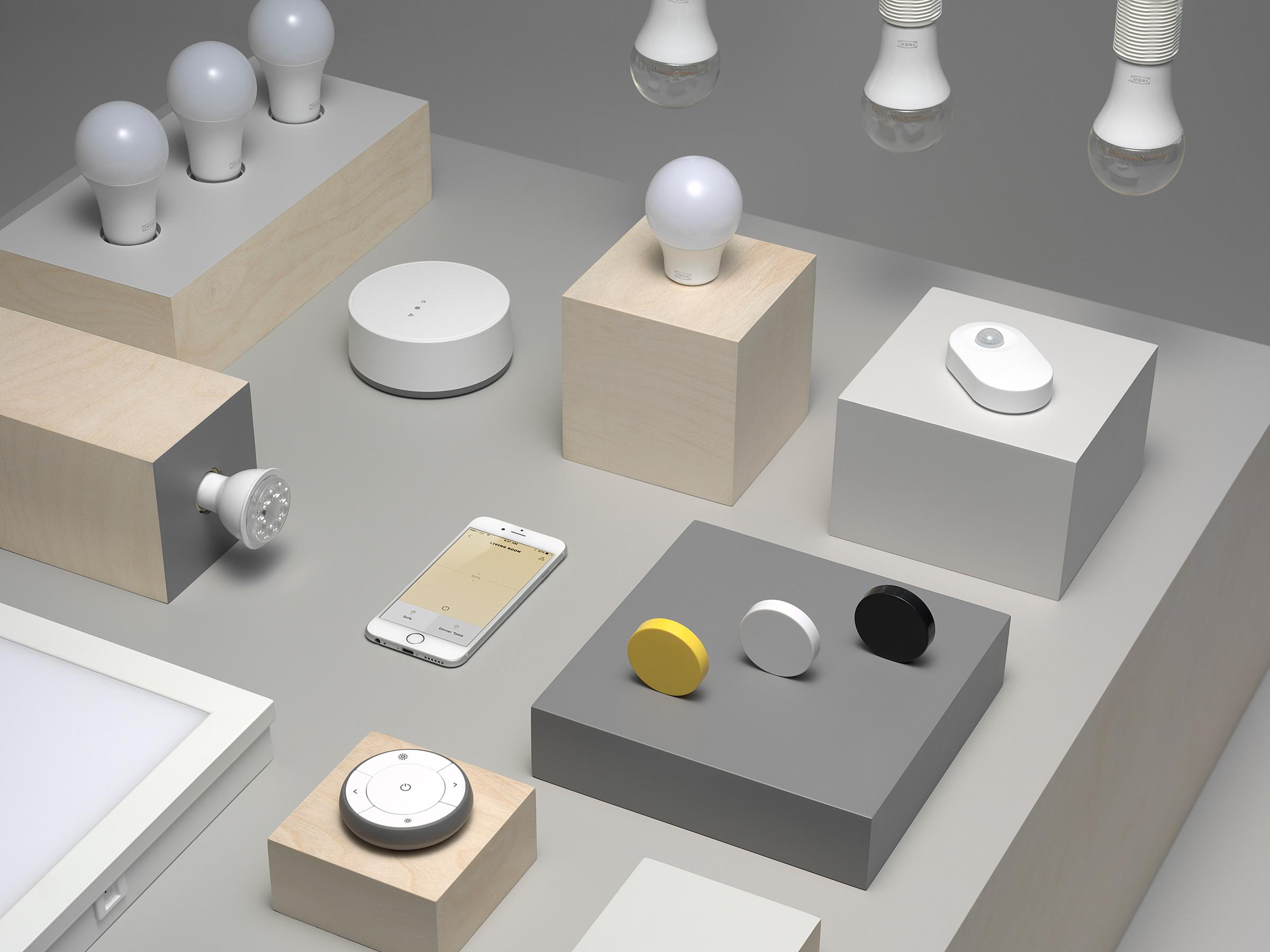 Ikea Trådfri : les ampoules connectées s'ouvrent à Google Home, HomeKit et Alexa