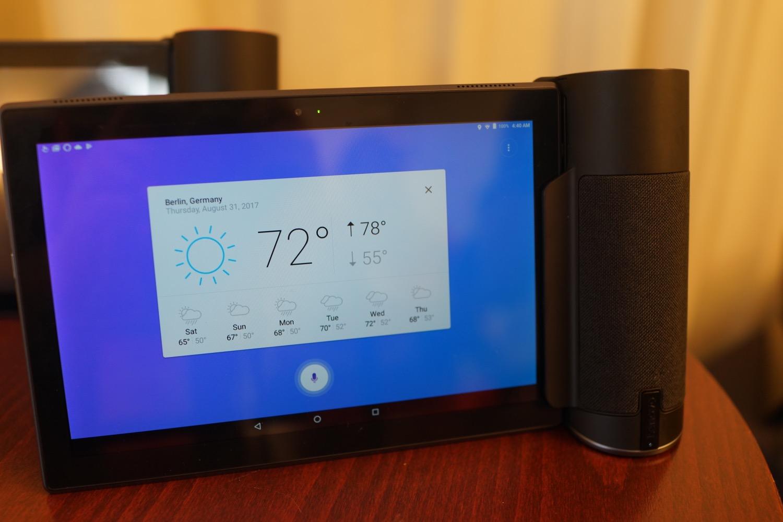 Lenovo Home Assistant Pack, une station Alexa avec tablette tactile intégrée
