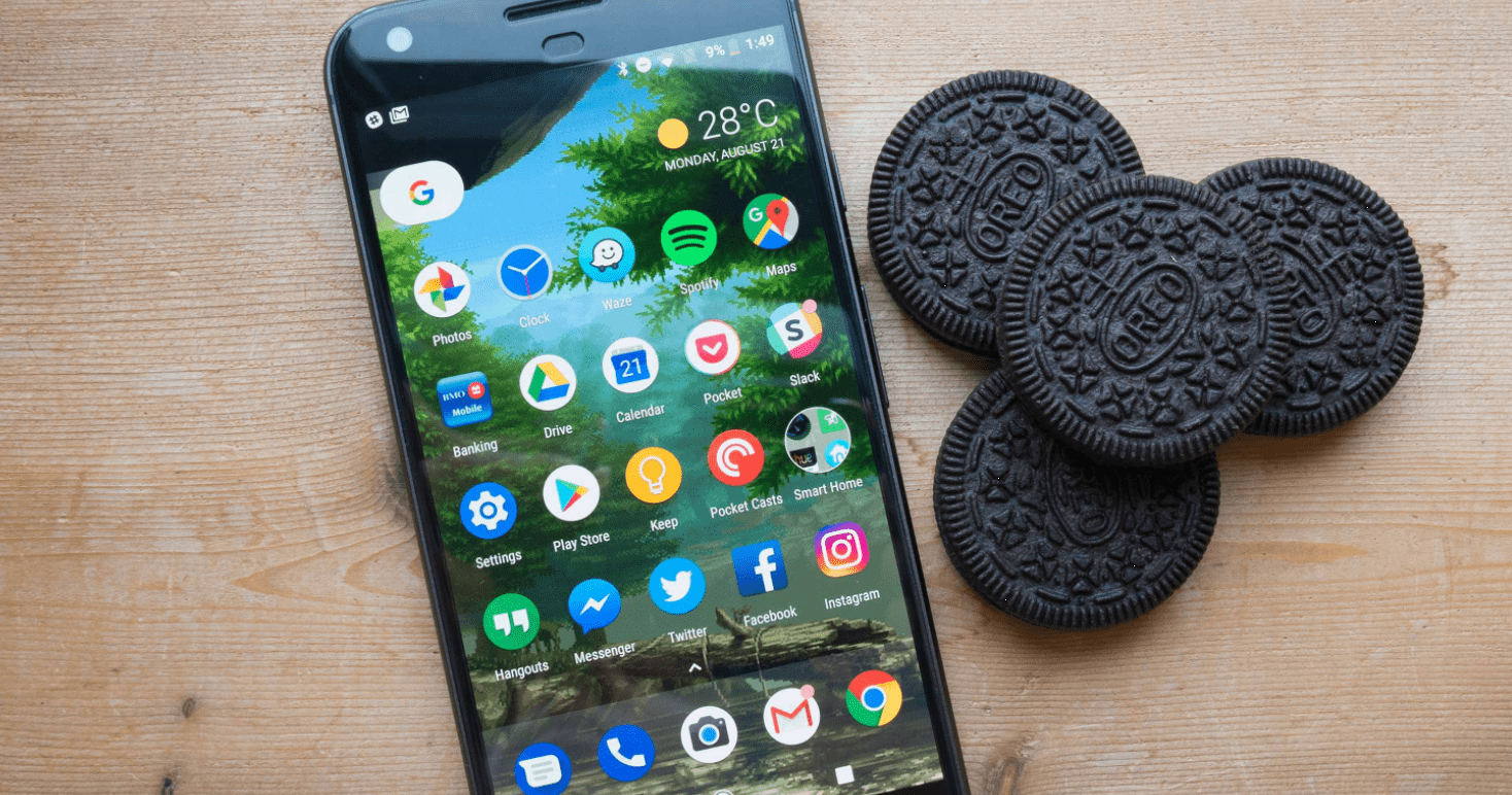 Android Oreo facilite l'identification du numéro de build