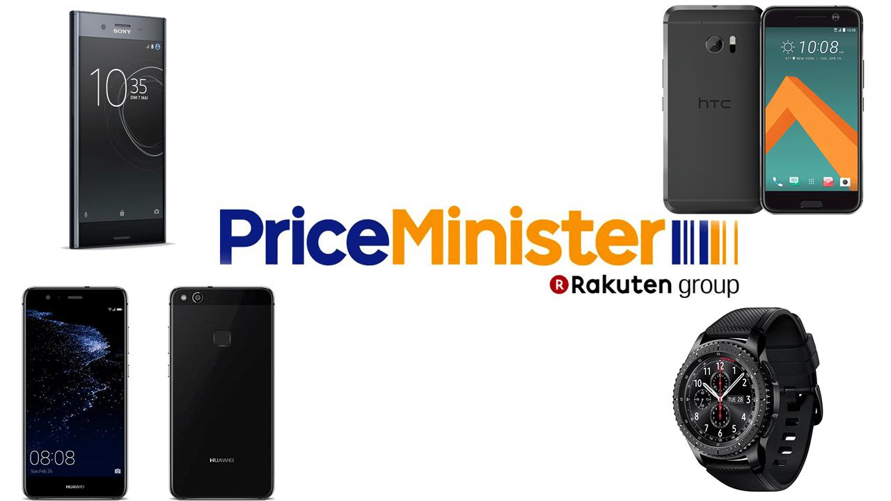 5 bons plans du jour chez PriceMinister : Sony Xperia XZ Premium, HTC 10, Samsung Gear S3, Huawei P10 Lite et Xiaomi Yi V2 4K