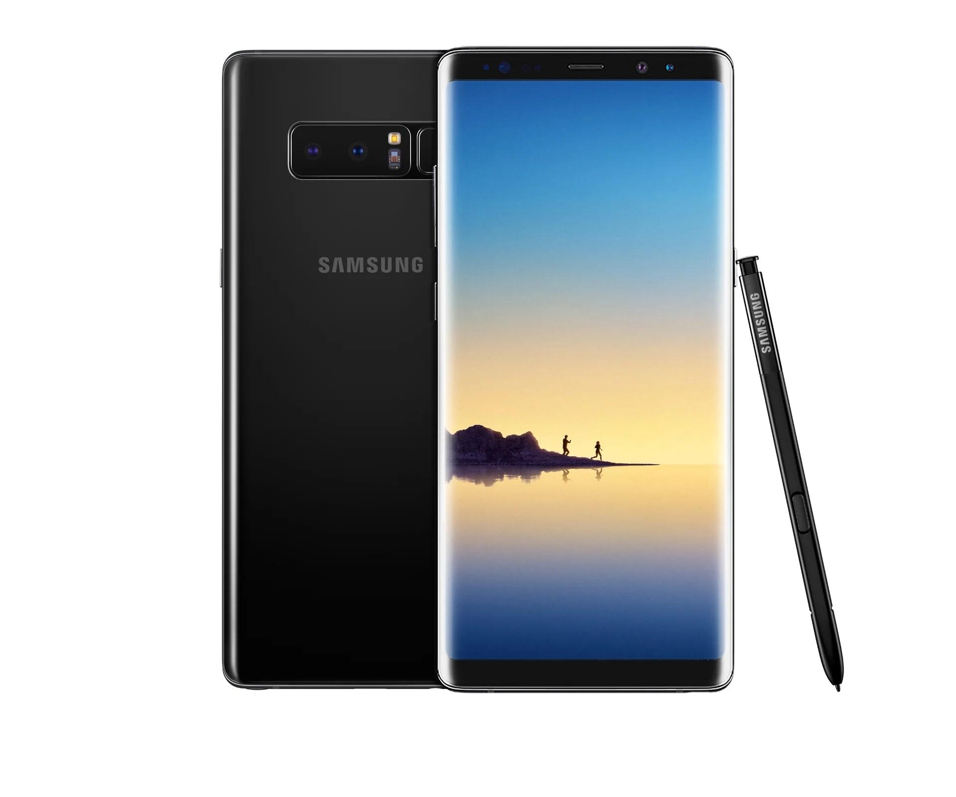 Galaxy Note 8 : déjà une mise à jour, mais Samsung traîne sur la sécurité