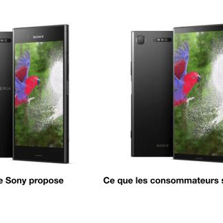 Sony Xperia : ils devraient se soucier de leur design