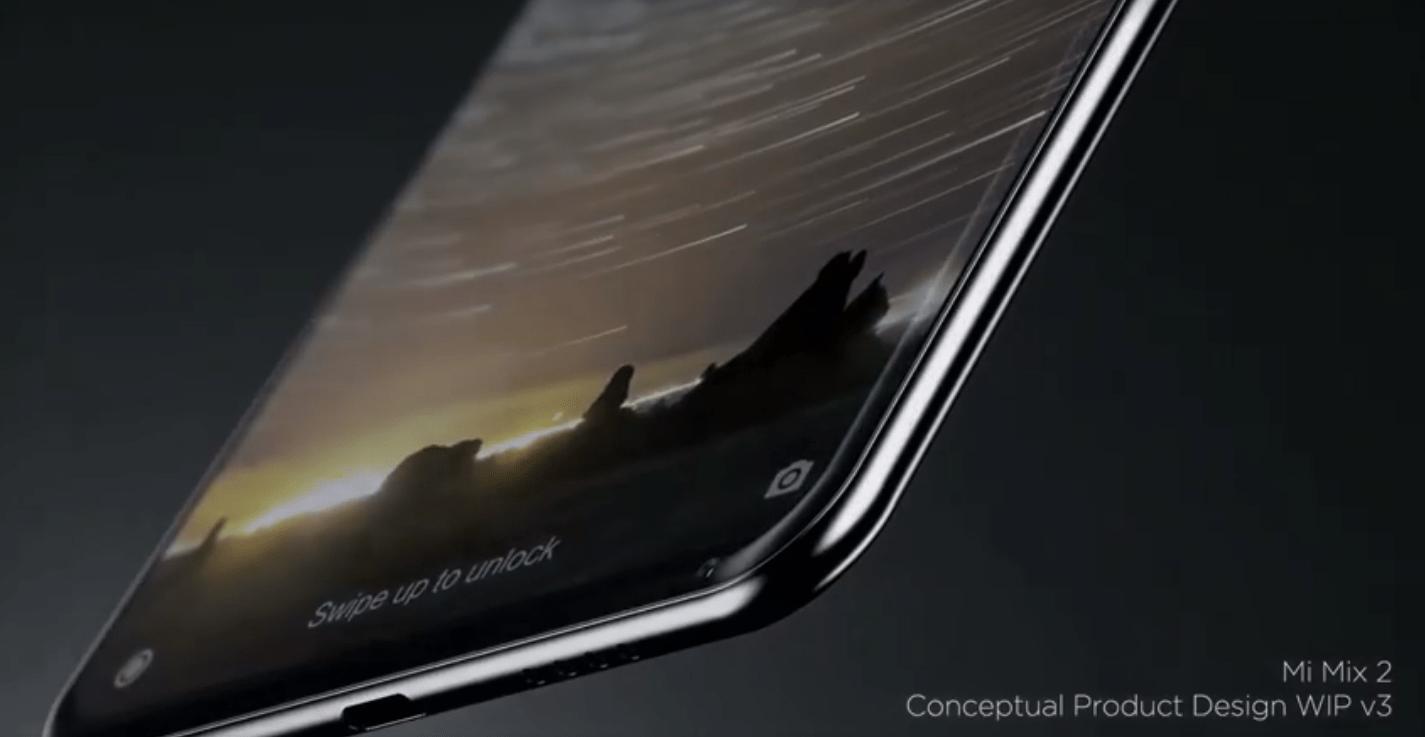 Le Xiaomi Mi Mix 2 pourrait être dévoilé le même jour que l'iPhone 8