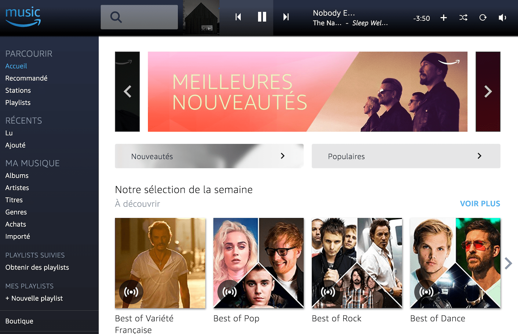 Amazon Music Unlimited : peut-il vous faire quitter votre service de streaming ?