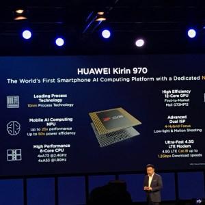 Kirin 970 officialisé : 20 % de performances en plus, et la première puce dédiée à l'IA