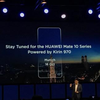 Huawei Mate 10 : officialisé le 16 octobre avec son écran «full display»