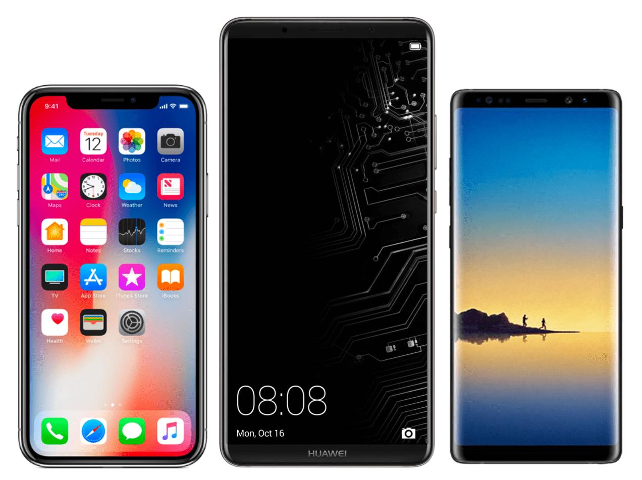 Huawei Mate 10 Pro : est-il crédible face à l'iPhone X et au Galaxy Note 8 ?