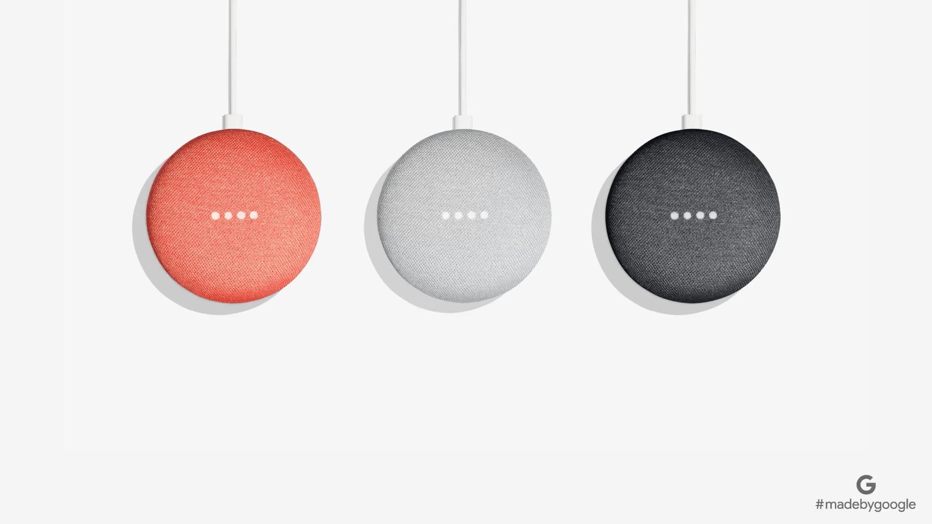 Google Home Mini : l'enceinte connectée et intelligente à prix et taille réduites