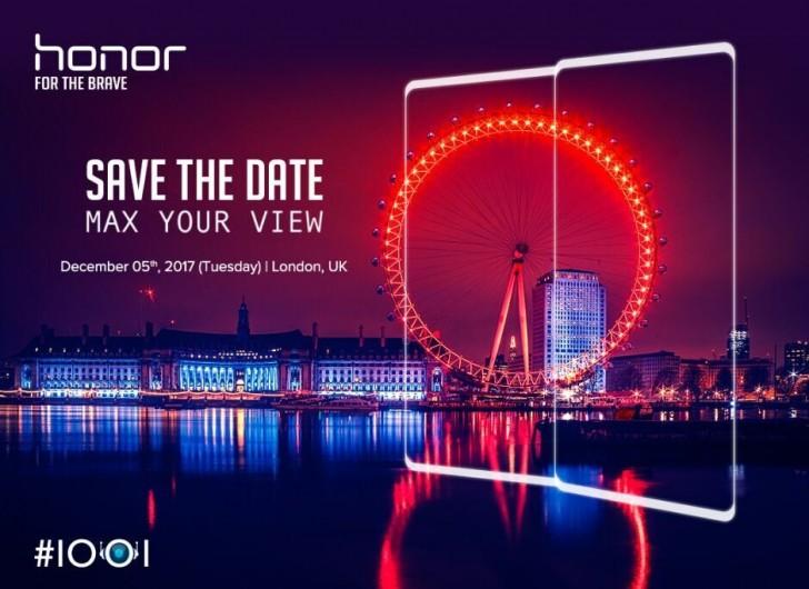 Honor prépare un nouveau smartphone borderless pour la fin d'année