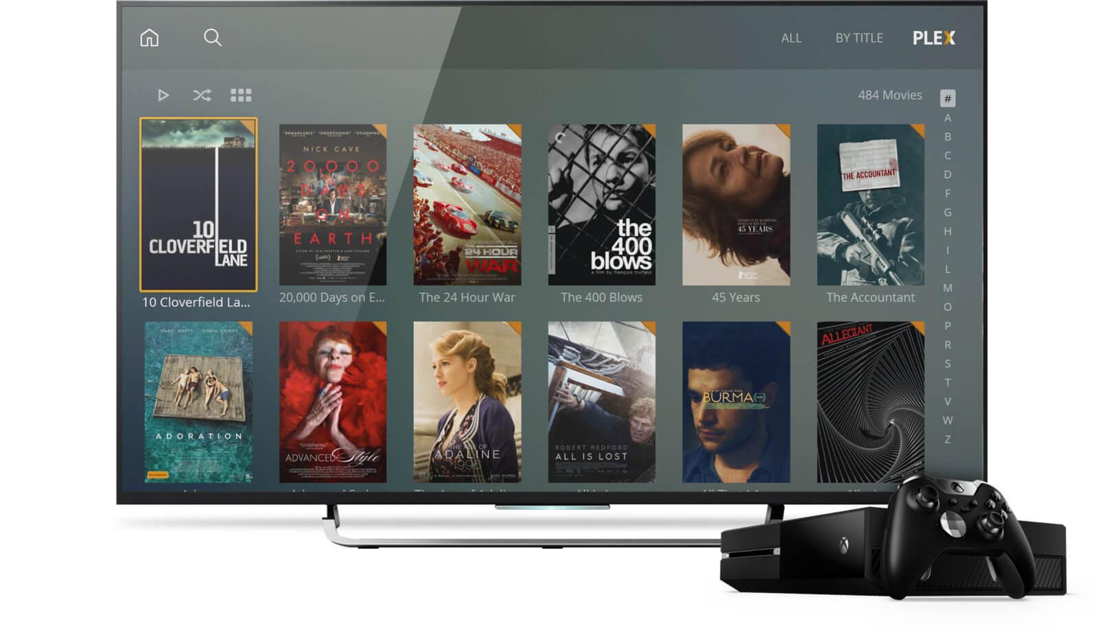 Plex se met à jour sur Xbox One : nouvelle interface et support Alexa !
