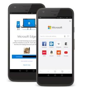Microsoft Edge est disponible sur Android : tour des fonctions, comment l'essayer