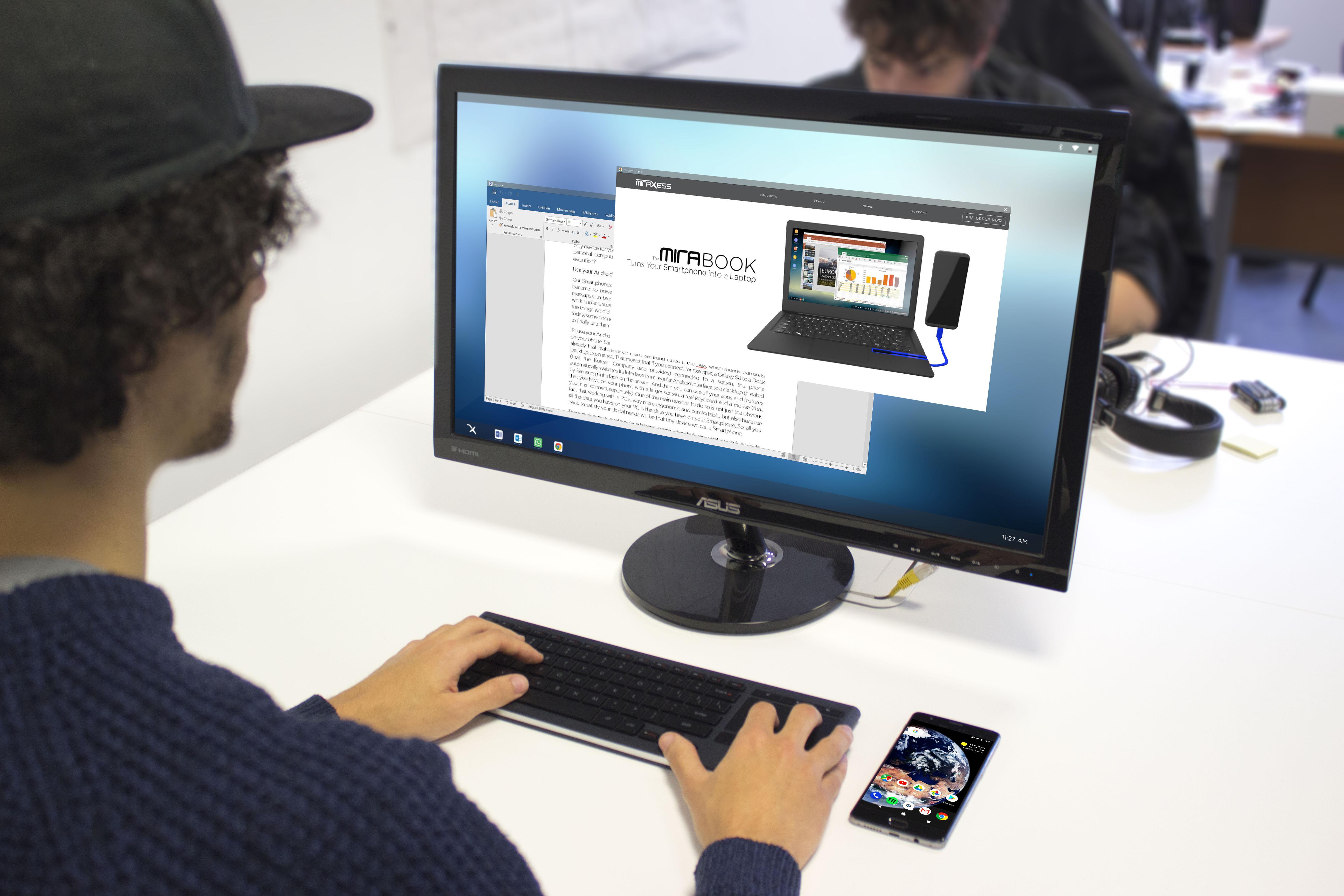 Contre Samsung et Huawei, Miraxess veut démocratiser des modes PC portables et sans-fil