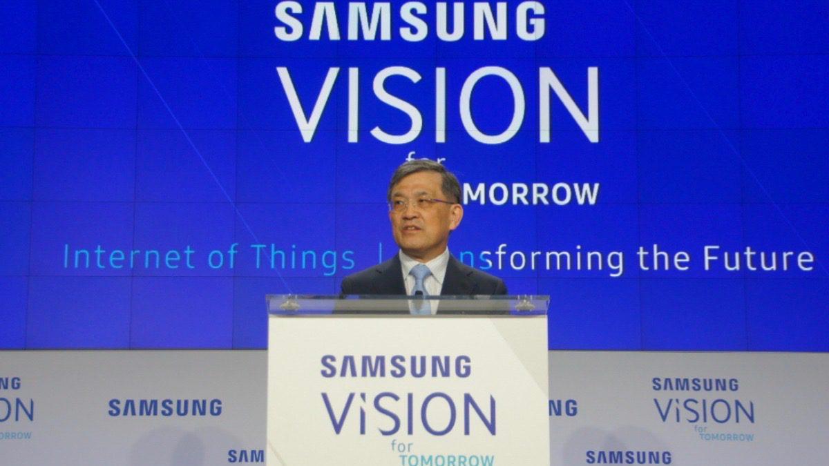 Kwon Oh-hyun, le patron de Samsung Electronics, annonce sa démission