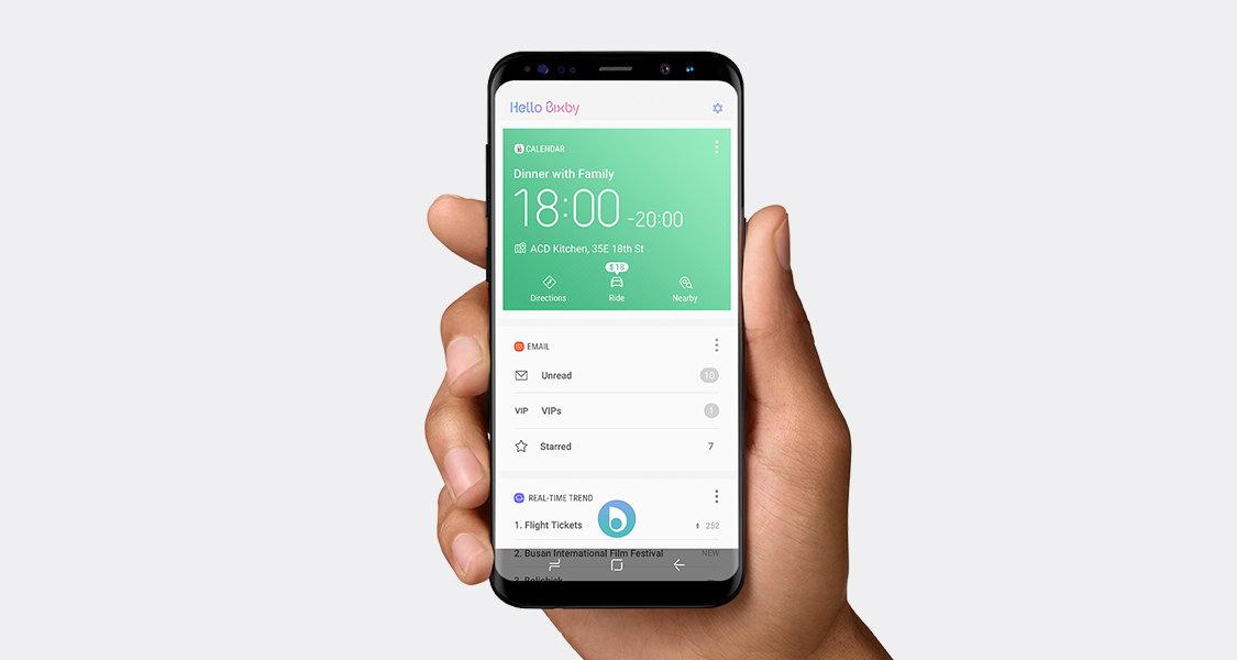 Bixby 2.0 veut devenir plus personnel et envahir les objets connectés