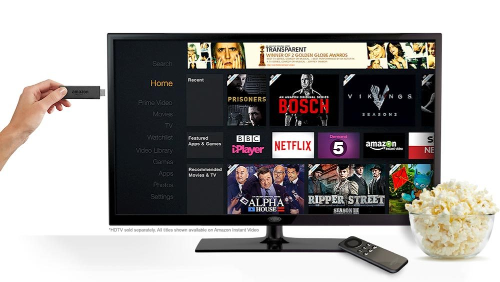 Amazon Fire TV Stick : une alternative autonome du Chromecast, désormais disponible en France
