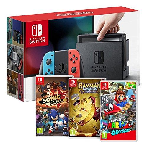 🔥 Cyber Monday : la Nintendo Switch à 359 euros avec Super Mario Odyssey, Rayman Legends, Sonic Forces sur Amazon