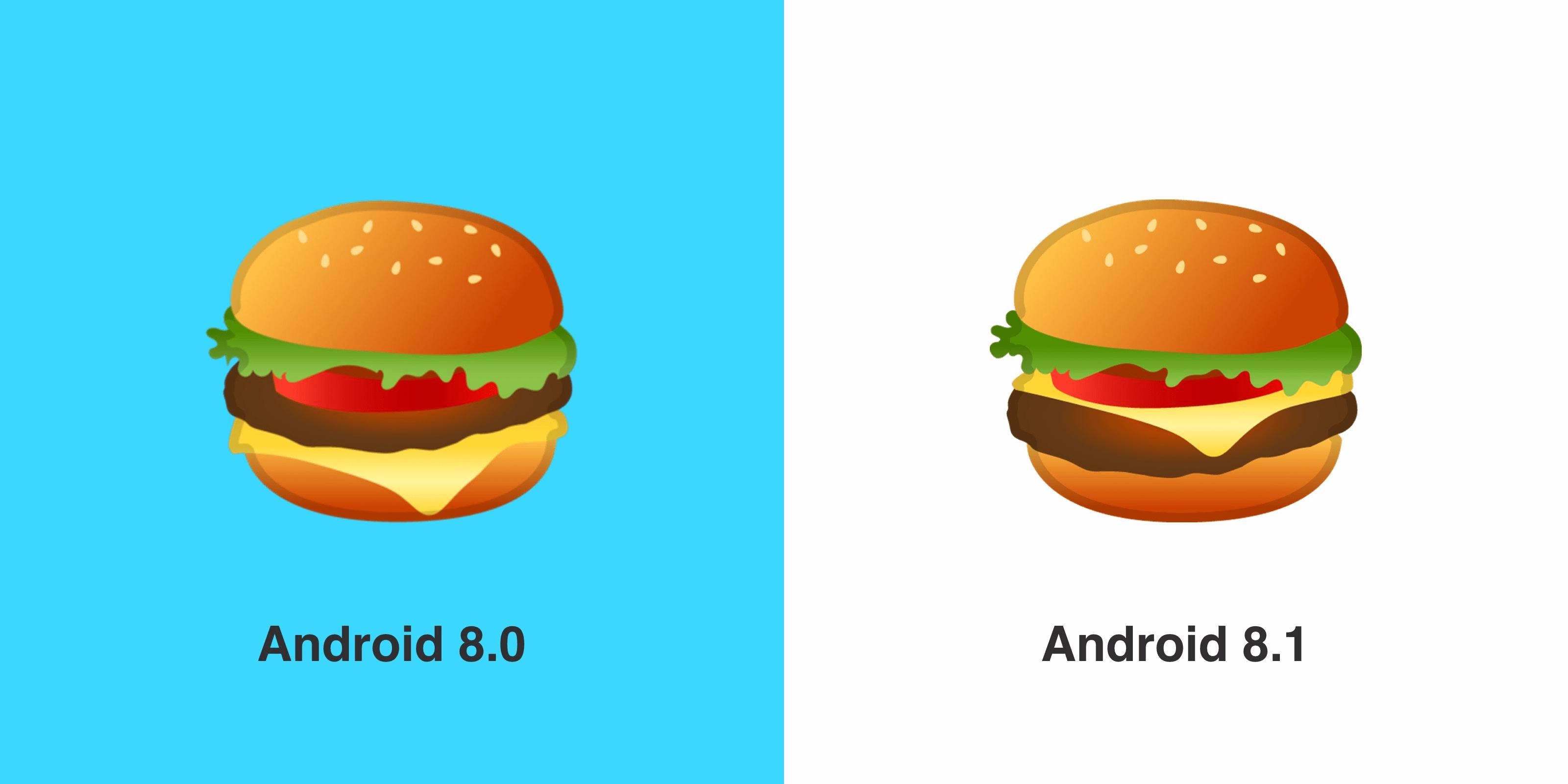 Le monde est sauf, Android 8.1 Oreo corrige ses émojis