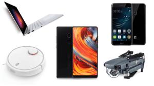Les 6 produits tech les plus intéressants à importer : du Xiaomi Mi Mix 2 au DJI Mavic Pro