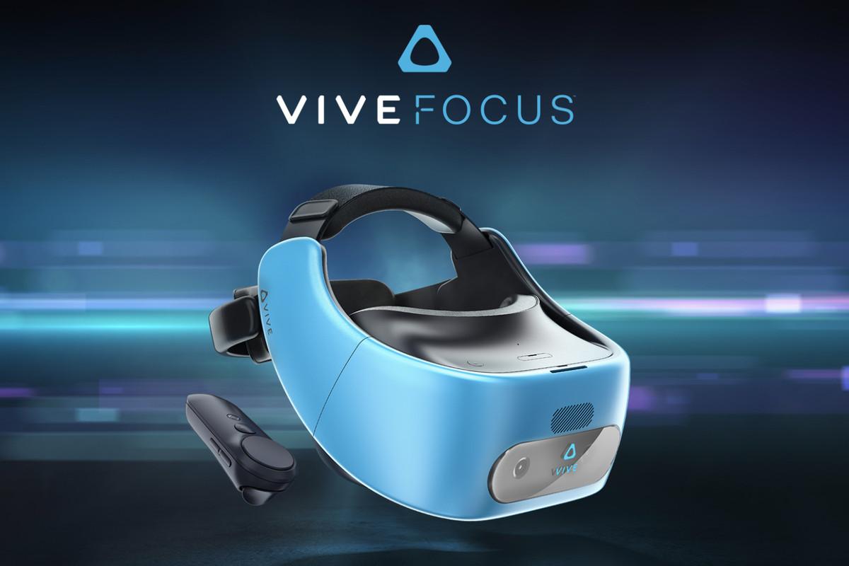 HTC annonce le Vive Focus VR et abandonne Google et son casque Daydream