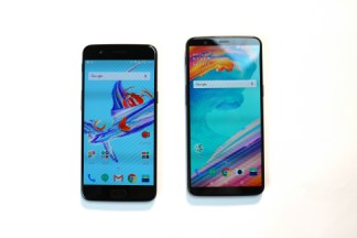 OnePlus 5T vs OnePlus 5 : ratio 18:9 à 6 mois d'intervalle